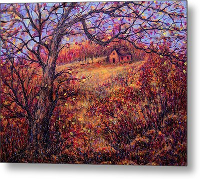 Metal Print featuring the painting Beautiful Autumn by Natalie Holland