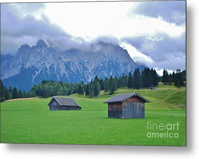 Metal Print featuring the photograph Beautiful Bavaria by William Wyckoff