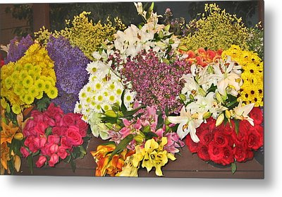 Beautiful Blooms Metal Print