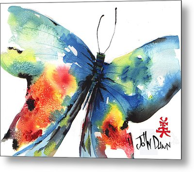 Beautiful Butterfly Metal Print by John Dunn