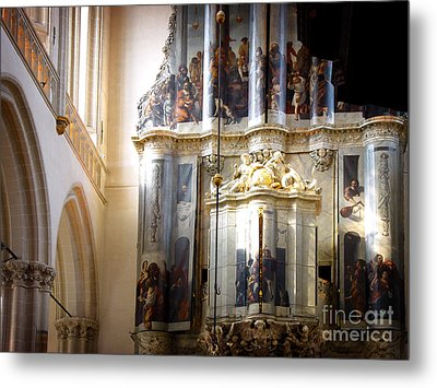 Metal Print featuring the photograph Beautiful Church Interior by Michael Edwards