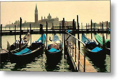 Metal Print featuring the photograph Beautiful Day In Venice by Brian Reaves