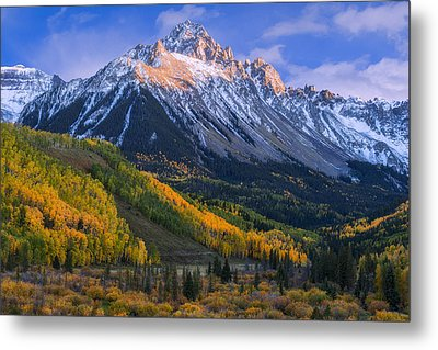Beautiful Fall Evening Metal Print by Tim Reaves