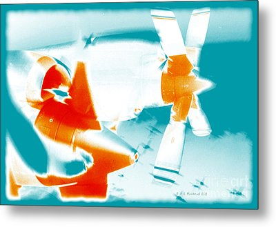 Metal Print featuring the photograph Fixed Wing Aircraft Pop Art Poster by R Muirhead Art