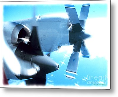 Beautiful Fixed Wing Aircraft Metal Print by R Muirhead Art