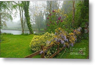 Beautiful Flowers Of Spring Metal Print