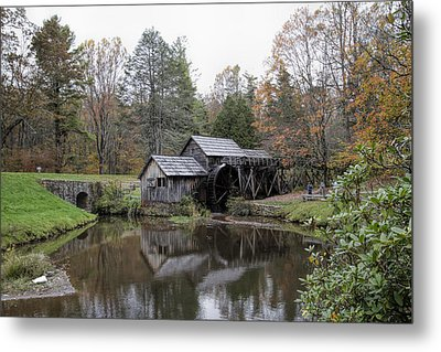 Beautiful Historical Mabry Mill Metal Print