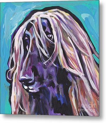 Beautiful Hound Metal Print