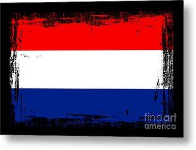 Beautiful Netherlands Flag Metal Print by Pamela Johnson