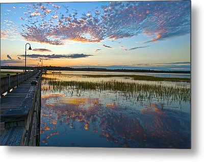 Beautiful Reflections Metal Print