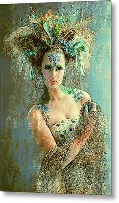 Beautiful Sea Urchin Metal Print by Maynard Ellis
