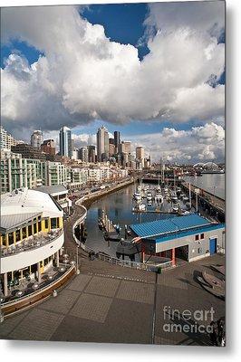 Beautiful Seattle Sky Metal Print by Mike Reid