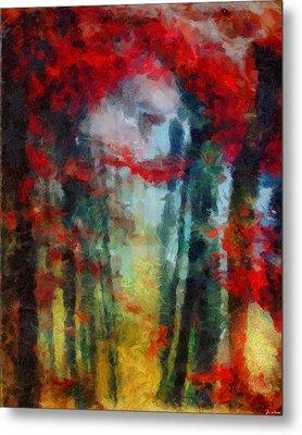 Metal Print featuring the painting Beautiful Secrets by Joe Misrasi