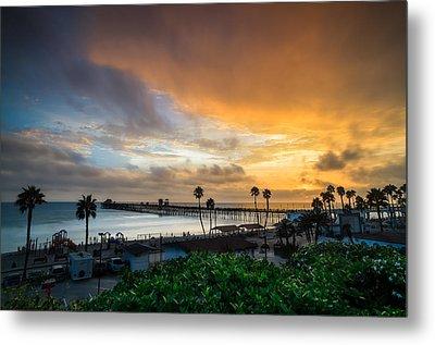 Beautiful Southern California Sunset Metal Print by Larry Marshall