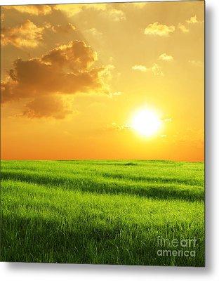 Beautiful Sunset Metal Print by Boon Mee