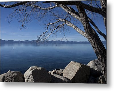 Beautiful View Of Lake Tahoe Metal Print