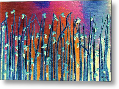 Beautiful Weeds On Venus Metal Print