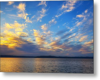 Beauty Before The Storm Metal Print