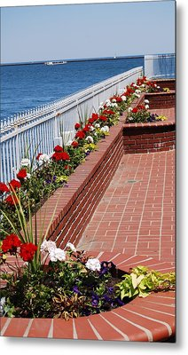 Metal Print featuring the photograph Beauty By The Lake by Ramona Whiteaker