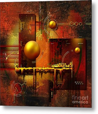 Beauty Of An Illusion Metal Print by Franziskus Pfleghart