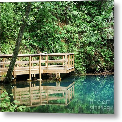 Metal Print featuring the photograph Beauty Of Blue Spring by Julie Clements