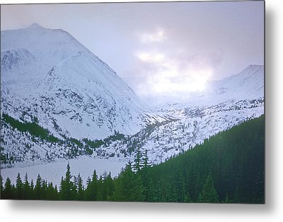 Beauty Of The Rockies Metal Print by Kellice Swaggerty