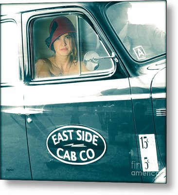 Beauty On The East Side  Metal Print by Steven Digman