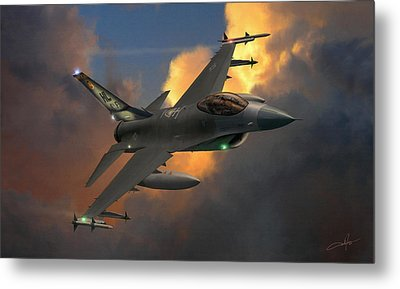 Beauty Pass Metal Print by Dale Jackson