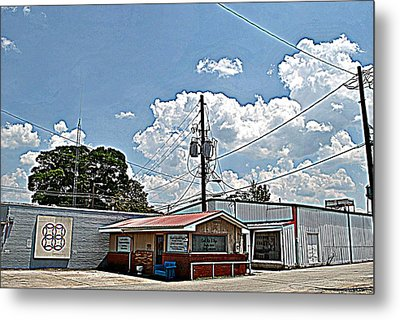 Beauty Shop Metal Print by Beverly Hammond
