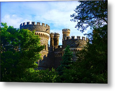Beaver College Castle - Arcadia University Metal Print by Bill Cannon