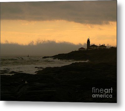 Beavertail-after The Storm Metal Print by Butch Lombardi