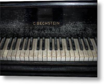 Bechstein Keys Metal Print