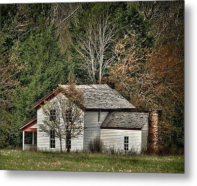 Becky Cable House Metal Print