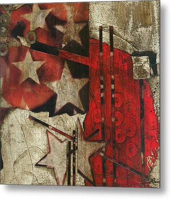 Becoming The Star That You Are Metal Print by Laura  Lein-Svencner