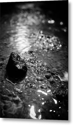 Becoming The Stream Metal Print by Jessica Brawley