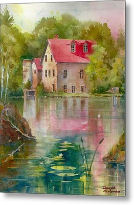 Bedford Mill Metal Print by David Gilmore