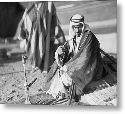 Bedouins In Jordan Metal Print