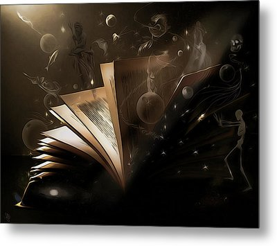Bedtime Stories Metal Print by Hazel Billingsley
