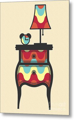 Bedtime Story Metal Print by Freshinkstain