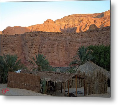 Beduin Camp In The Sinai Desert Egypt Metal Print by Colette V Hera  Guggenheim