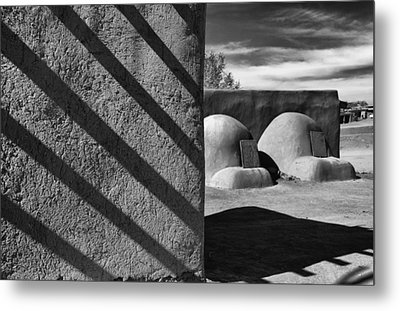Bee Hive Ovens Metal Print by Gary Warnimont