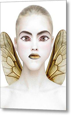 Bee Metal Print by Yosi Cupano