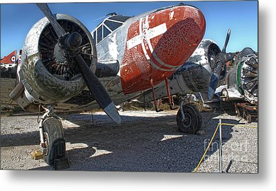 Beech Expeditor Uc-45 - 01 Metal Print by Gregory Dyer