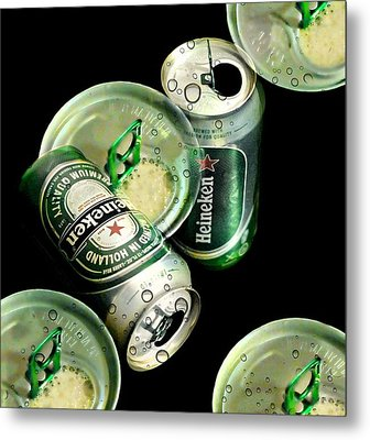 Beer Here Metal Print by Diana Angstadt
