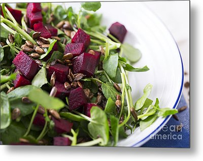 Beetroot Salad Metal Print