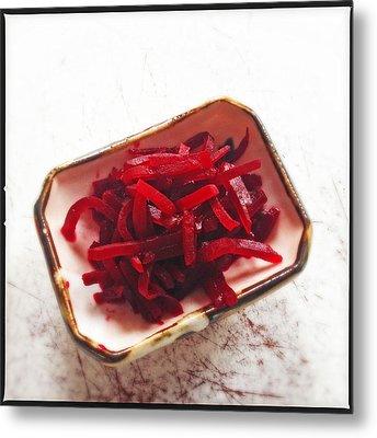 Beetroot Salad Metal Print by Matthias Hauser