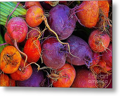 Beets Me  Metal Print by John S