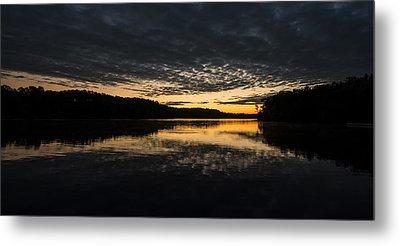 Before Sunrise At The Lake Metal Print