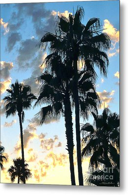 Before The Dusk Metal Print by Gem S Visionary