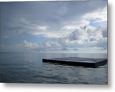Metal Print featuring the photograph Before The Rain by Jon Emery
